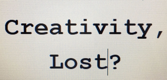 creativity-lost
